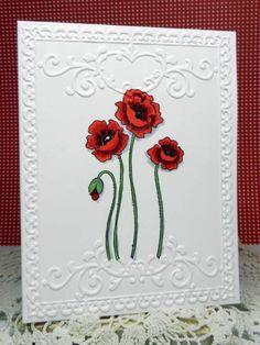 Poppies by SageBrush - Cards and Paper Crafts at Splitcoaststampers