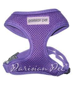 Parisian Pet Mesh Harness Purple @ Pupaholic.com