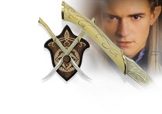 NobleWares Image of Lord of the Rings UC1372WGNB Fighting Knives of Legolas by United Cutlery