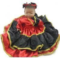 MUÑECA Cubana #Eleggua Modelo Nº 2 40 cm (Vestido + Accesorios)