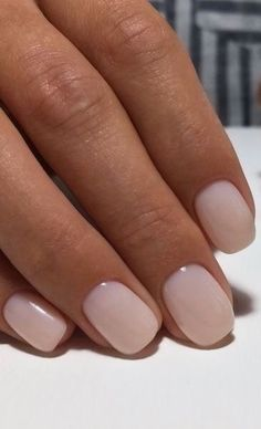 are worth it - nails - # manicure # nails # sweet - maaghie Sweet manicure! are worth it - nails - # manicure # nails # sweet Neutral Nails, Nude Nails, Short Nails Shellac, Blush Nails, Coffin Nails, Long Nails, White Shellac, Ivory Nails, Acrylic Nails Nude