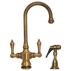 5 Favorites: Brass Faucets for the Kitchen   Uk companies, Faucet ...