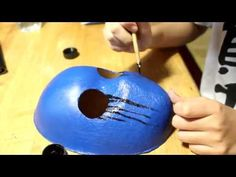 How to make Eyeless Jack's mask by MHD - YouTube