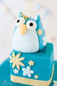 Fondant Owl (Tutorial)