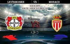 Bayer Leverkusen vs Monaco 07.12.2016 Prdictions - PPsoccer