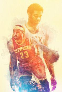 "Past vs Present NBA Superstars Mirror Images | Big ""O"" & The King"