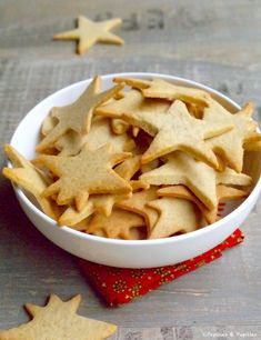 Recipe for Christmas Shortbread / Recipe Christmas cookies Shortbread Recipes, Shortbread Cookies, Cupcake Cookies, Cookie Recipes, Snack Recipes, Dessert Recipes, Cupcakes, Snacks, Brownie Cookies
