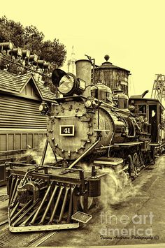 Old Western Railroad Photograph  - Old Western Railroad Fine Art Print