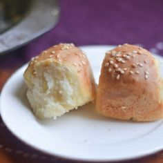 Soft, fluffy buns filled with sweet/savory filling makes an amazing combo for lunch/dinner with warm soup.