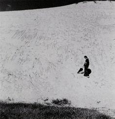 Shōji Ueda,Untitled (My Wife in the Dunes), 1950
