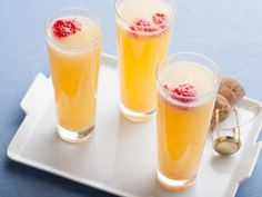 Raspberry Mimosa : This brunch (or anytime) cocktail features fresh, muddled raspberries and is finished with champagne or prosecco.