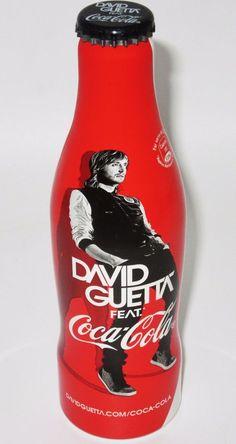 *FULL! 2012 DJ / Producer David Guetta Aluminum Coca Cola Bottle Coke France