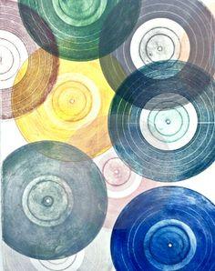 colorful translucent vinyl