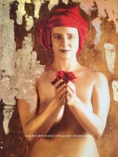 """Forgiveness"" from Virtues series   FotoPainting on canvas 125x95 cm   Sarah Arensi&Ferdinando Cioffi 2013"