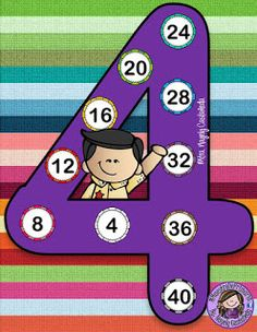 Number four ♥ 2nd Grade Math Worksheets, Multiplication Worksheets, Math Blocks, Singapore Math, Homeschool Math, Math Class, Math For Kids, Happy Kids, Math Lessons