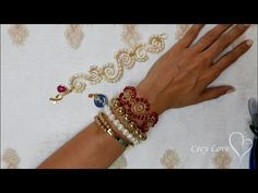 BRAZALETE ARTESANAL EN ALAMBRISMO! con Cecy Love Bisutería - YouTube