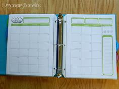 31 Days of Home Management Binder Printables: Putting it All Together | Organizing Homelife