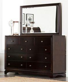 Another Great Find On #zulily! Espresso Landsford Dresser U0026 Mirror  #zulilyfinds