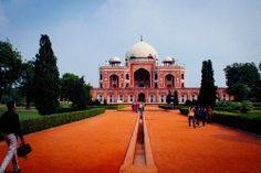Humayun's Tomb - New Delhi, India