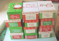 Linda Winegar: 12 Days of Christmas Box Fun