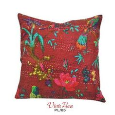 DIY Hancrafted Pillow Case Kantha Cushion Cover PL/65