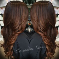 Dark Chestnut Brown Hair Color