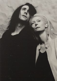 Only lovers left alive. A vampire movie with Tom Hiddleston and Tilda Swinton.