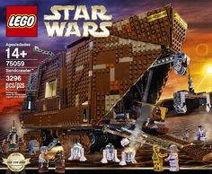 Review: LEGO 75059 Sandcrawler - Part 1 | Brickset: LEGO set guide and database