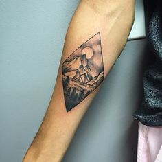 double diamond mountain tattoo.