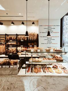 10 cool Restaurants & Cafes in New York - Misses Popisses Bakery Decor, Bakery Interior, Coffee Shop Interior Design, Coffee Shop Design, Bakery Cafe, Restaurant Interior Design, Bakery Shops, Cool Restaurant, Restaurant New York