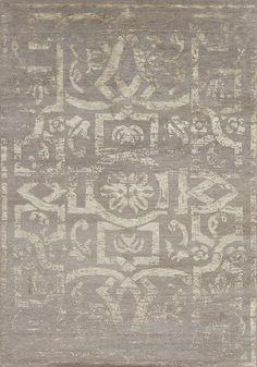 Modern Tibet 3 - Chakra - Samad - Hand Made Carpets 3 Chakra, Home Rugs, Grey Rugs, Modern Rugs, Tibet, Innovation Design, Carpets, Mosaic, Flooring