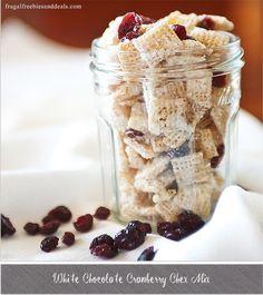 White Chocolate Cranberry Chex Mix