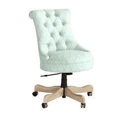 Browse home office furniture and find stylish office decor and furniture today! Shop home office furniture at Ballard Designs. Adjustable Office Chair, Swivel Office Chair, Mesh Office Chair, Luxury Office Chairs, Office Chairs Online, Upholstered Desk Chair, Patio Chair Cushions, Fabric Chairs, Wrought Iron Patio Chairs