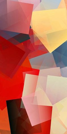 Simple Cubism Abstract 93 Print by Chris Butler.  #art #cubism #deco #design #interior #home #Decor #wall #modern #contemporary #homedecor #abstractart