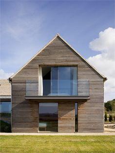 modern gable roof house cedar - Google Search