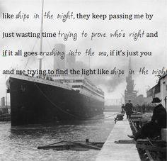 Matt Kearney - Ships In The Night