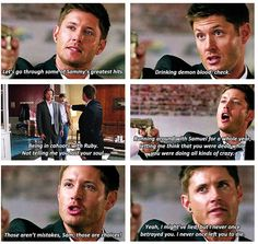 """""""I might've lied, but i never once betrayed you. I never once left you to die."""" And that is why i am a Dean girl."""
