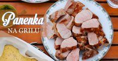Zajímala by vás grilovaná vepřová panenka, se kterou není skoro žádná práce? Taková, kde se od vás v kuchyni čekají pouze dvě naprosto snadné věci? Zde je. Pork Meat, Sausage, Grilling, Steak, Recipes, Roast Beef, Sausages, Crickets, Recipies