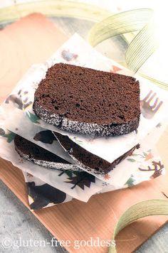 Gluten-Free Chocolate Gingerbread Recipe  Gluten-Free Goddess® Recipes (sub for egg to make vegan)