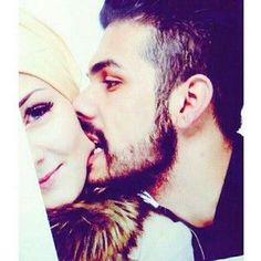 cute hijab n beard style Cute Love Couple, Perfect Couple, Best Couple, Beautiful Couple, Cute Muslim Couples, Romantic Couples, Cute Couples, Muslim Couple Photography, Photography Pics