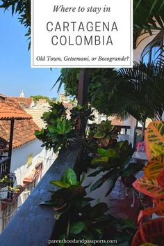 Where to stay in Cartagena, Colombia: Old Town or Getsemani or Bocagrande? #travel #travelideas #columbiatravel Backpacking South America, South America Travel, Places To Travel, Travel Destinations, Places To Visit, Machu Picchu, Travel Couple, Family Travel, Group Travel