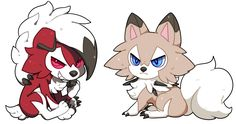 Lycanroc - Midday or Midnight? - posted in Sun & Moon: Rockruff, the cute rock puppy pokemon, evolves in Lycanroc! The different forms of Lycanroc depends on the version you bought! Pokemon Sun gives you the Midday form while Pokemon Moon gives you the Midnight form. Each form has a different pokedex entry.   According to the pokedex entry of Rockruff, the pokemon tends to howl around dusk when its evolution draws near. It will also separate from its trainer to evolve. Imagine one day...