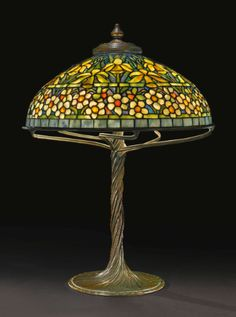 tiffany studios daffodil and narci | lighting | sotheby's n09061lot6tyqcen