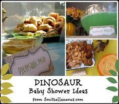 A Dinosaur Baby Shower - Smithellaneous