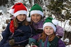 I went to the store last weekend to buy some hats for my Christmas cards for the girls to wear.  They looked horrible and cost $3 each.. ...
