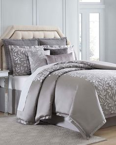 Hampton Queen Duvet Set  and Matching Items by Charisma at Horchow.