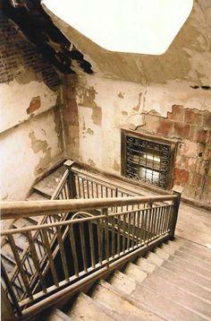 Stairway, administration building, Ellis Island