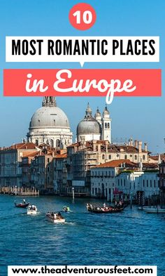 Want to go on a romantic getaway with your loved one? Here are the most romantic places in Europe to consider. Europe Destinations, Places In Europe, Romantic Destinations, Romantic Getaways, Romantic Travel, European Travel Tips, European Vacation, Europe Travel Guide, Travel Guides