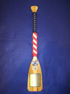 Navy Chief Paddles