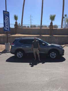 AKOS 's new 2015 NISSAN  ROGUE! Congratulations and best wishes from Findlay Motor Company and Jesse Premsey.